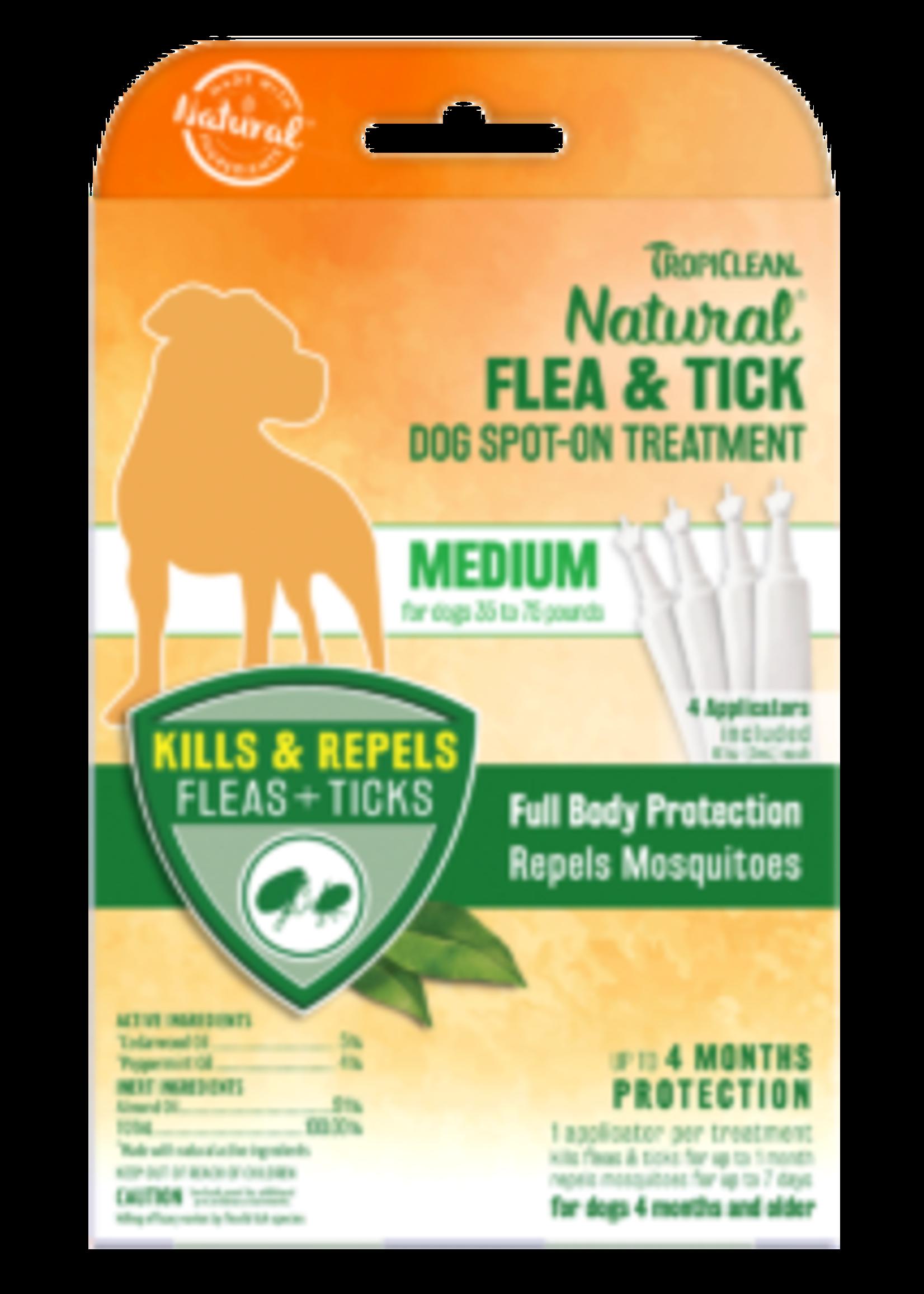 TropiClean TropiClean Dog Flea & Tick Spot-on Treatment