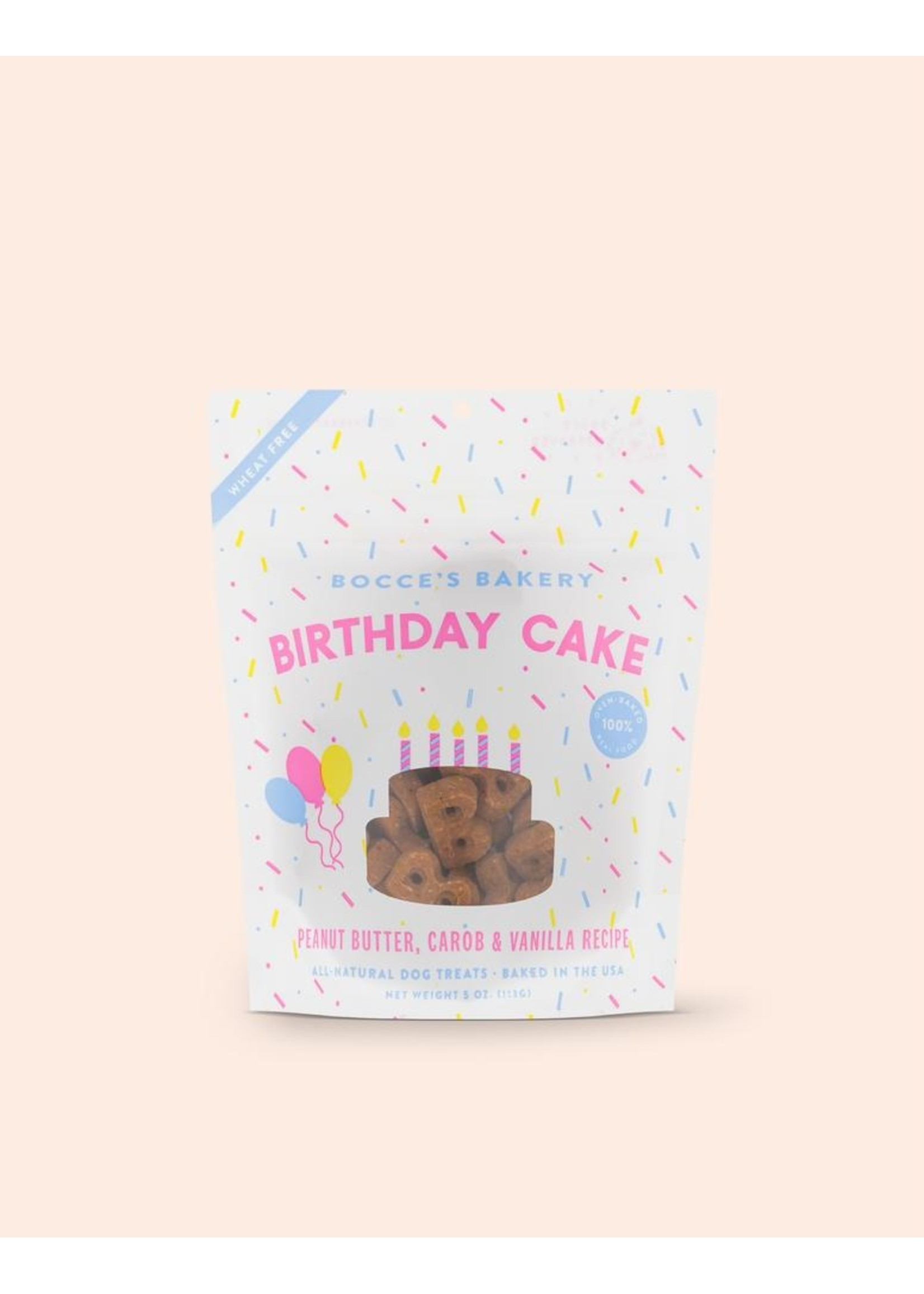 Bocce's Bakery Dog Birthday Cake Biscuits