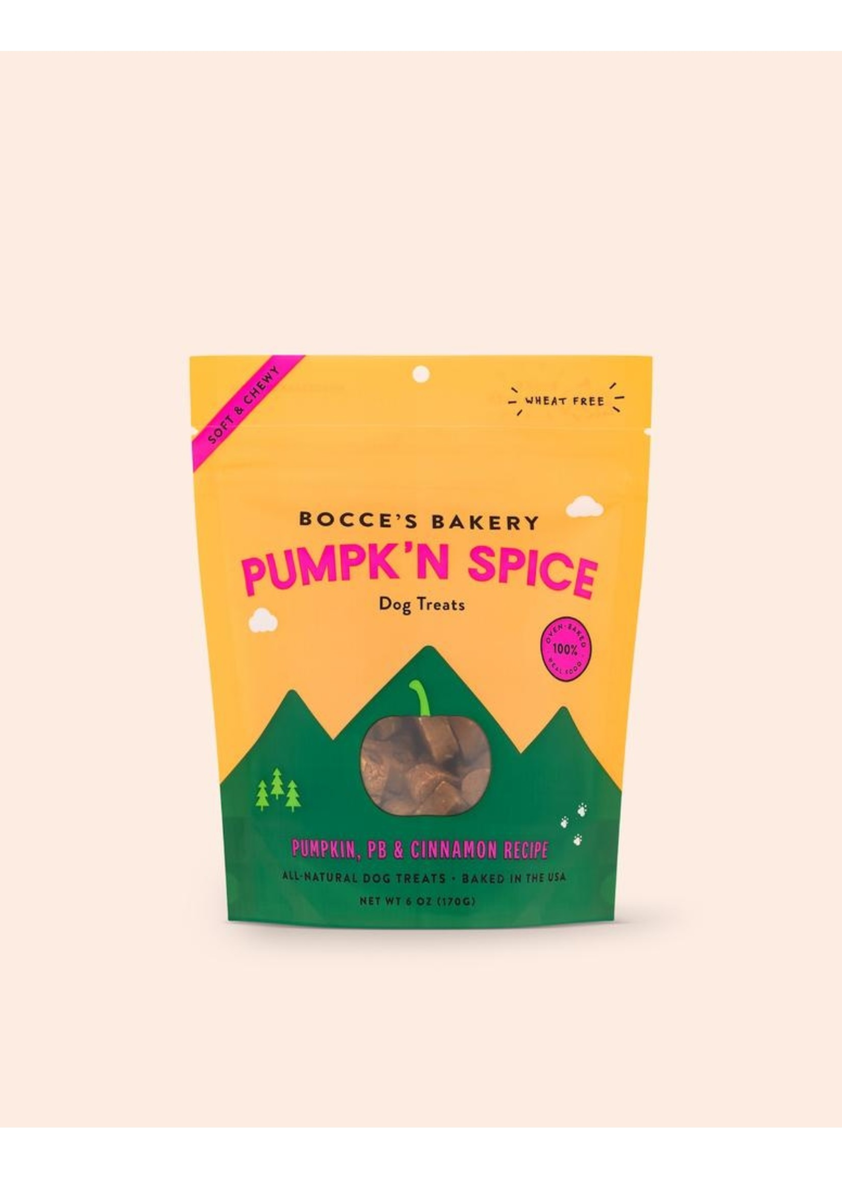 Bocce's Bakery Soft & Chewy Pumpkin Spice
