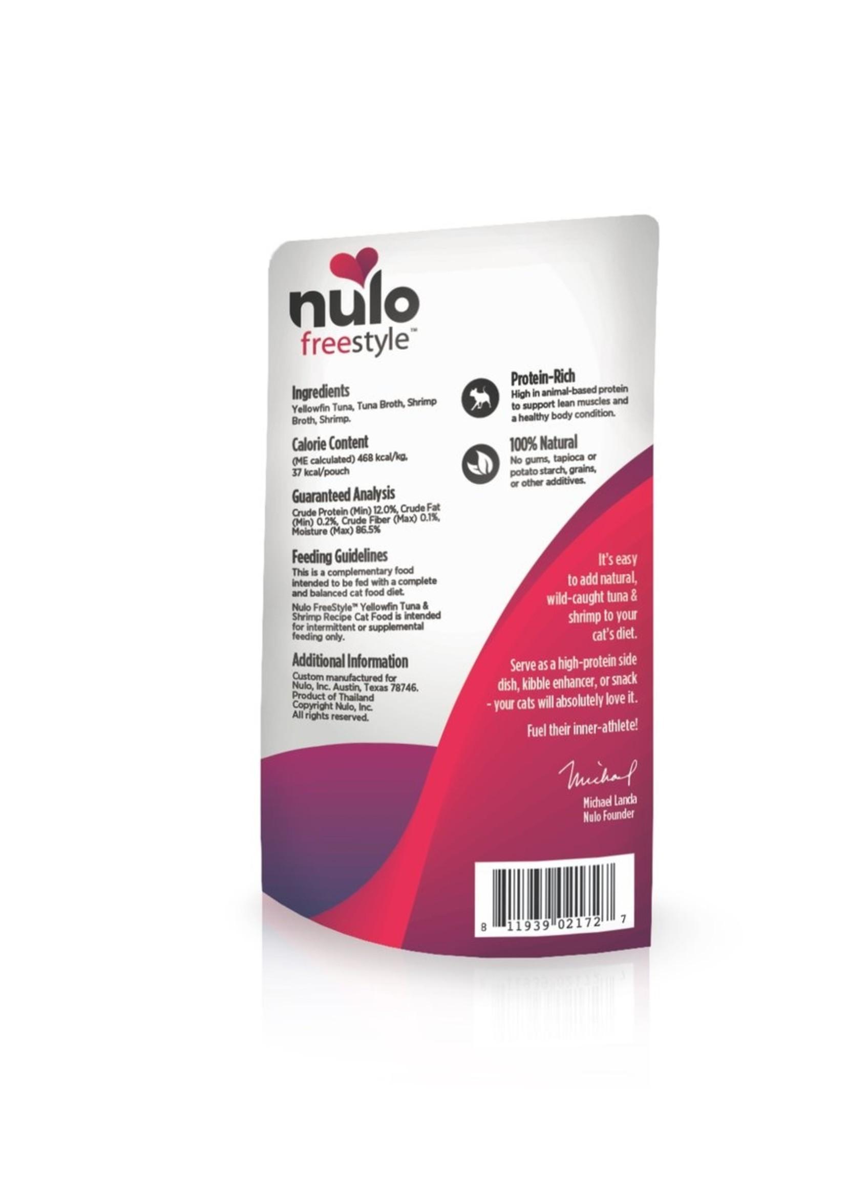 Nulo Nulo FreeStyle YellowFin Tuna & Shrimp in Broth