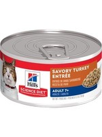 Hill's Science Diet Hill's Science Diet Adult 7+ Canned Cat Food, Savory Turkey Entree, 2.9oz Can