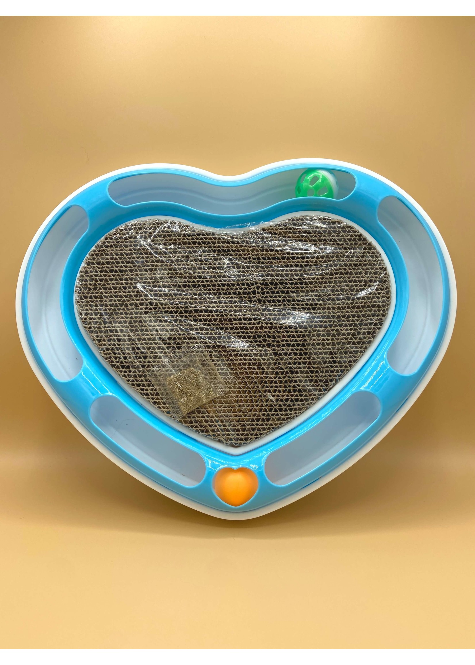 Cat Track Toy With Scratch Pad