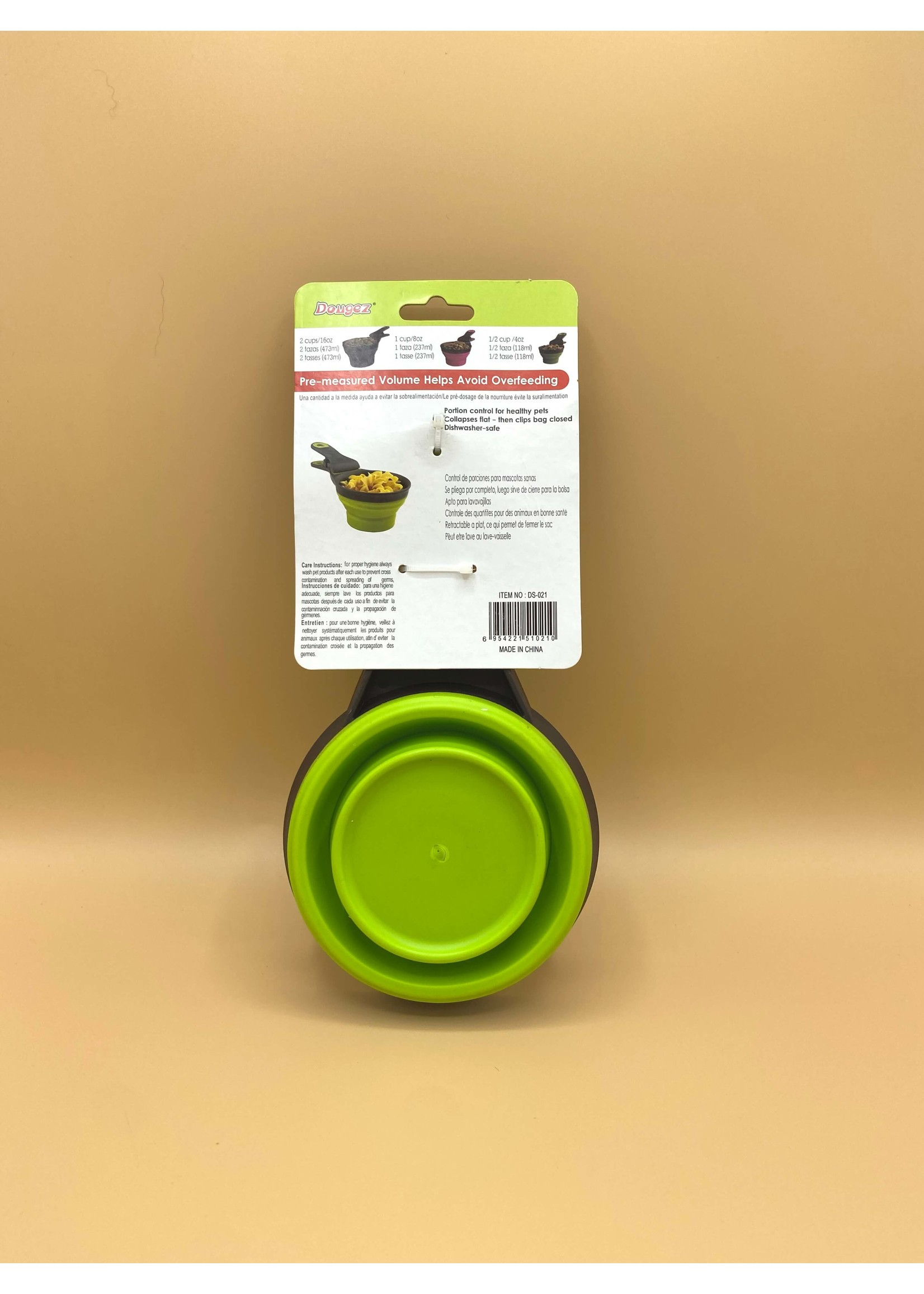 3-in-1 Food Clip, Scoop, and Bowl