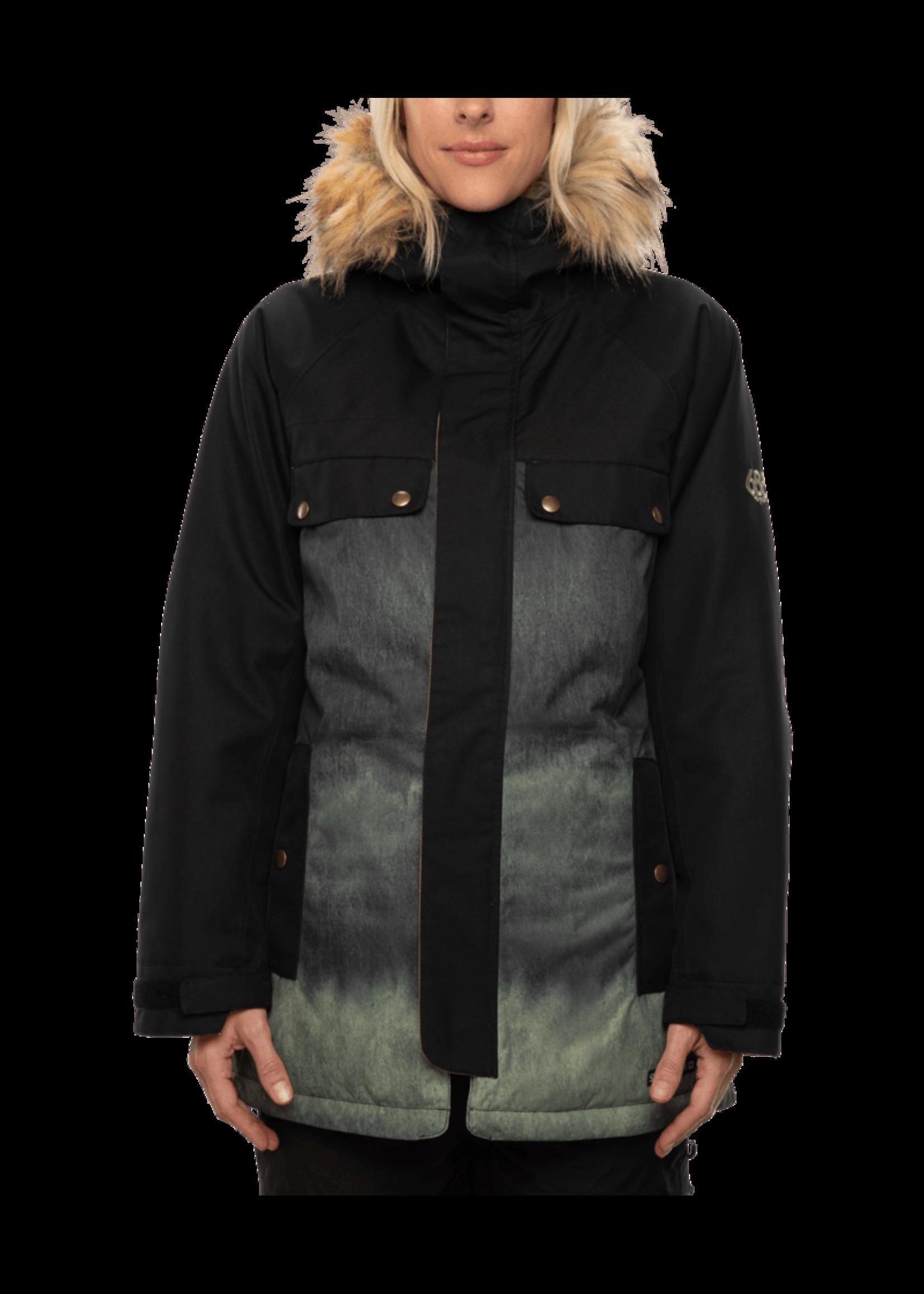 686 686 Dream Insulated Jacket Moss Fade Medium