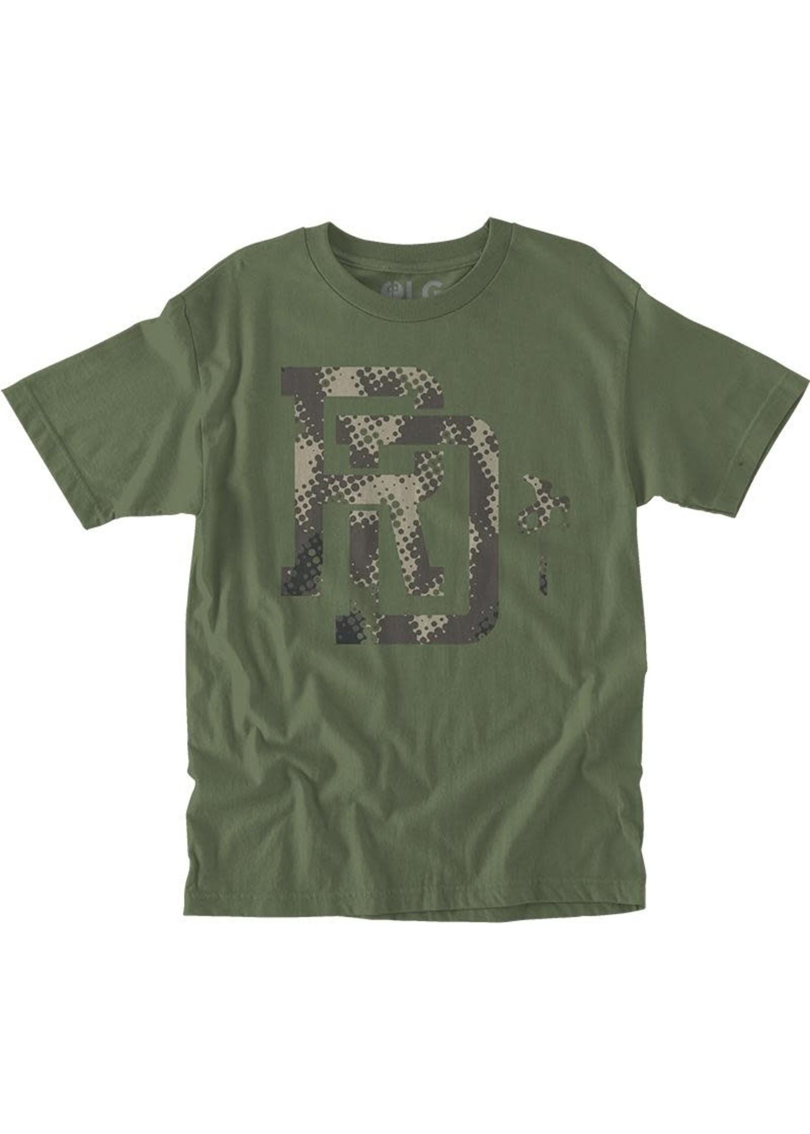 RDS RDS T-Shirt Mono Camo