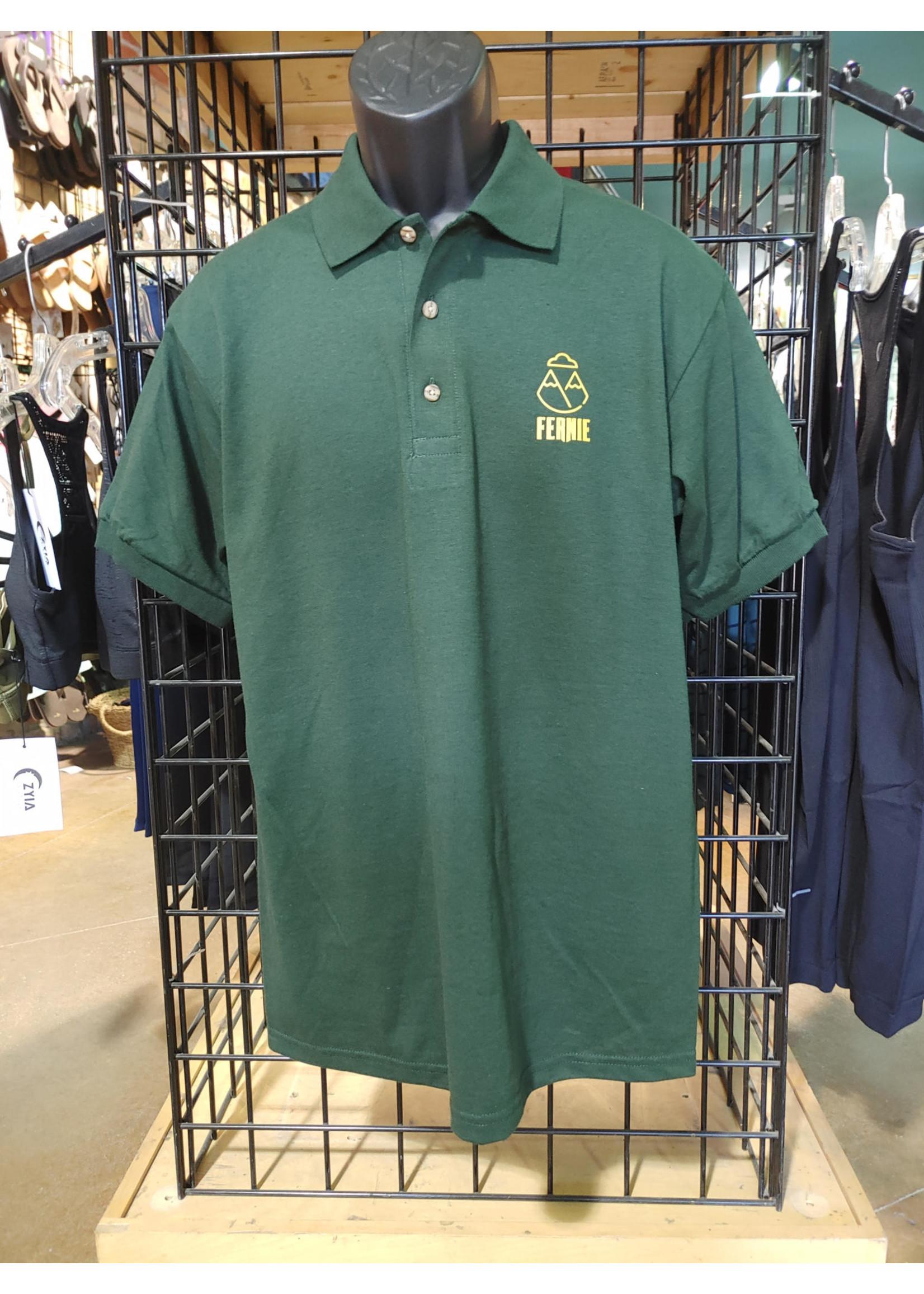 Boardstiff Boardstiff Mens Golf Shirt Fernie