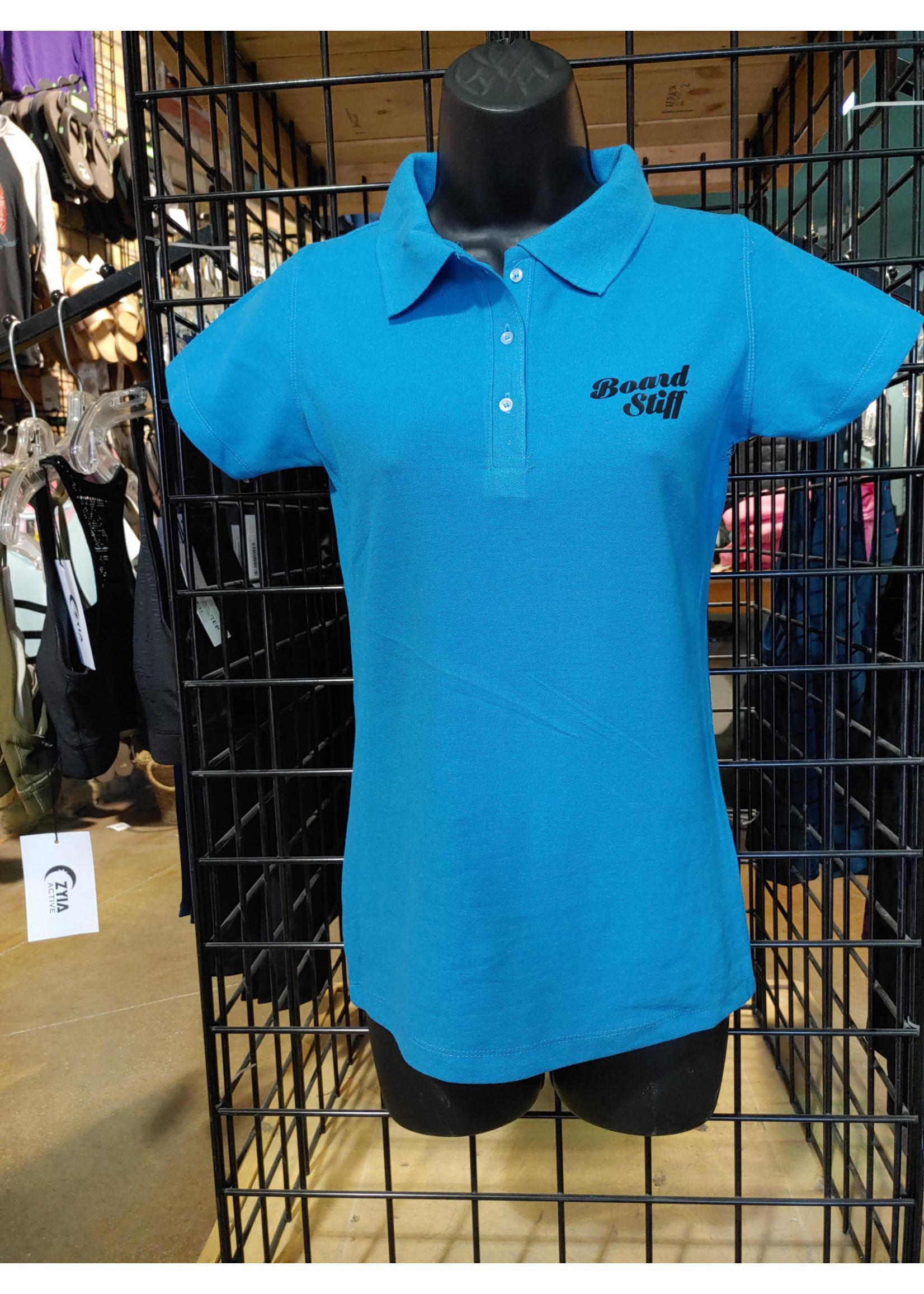 Boardstiff Women's Golf Shirt - Boardstiff Logo