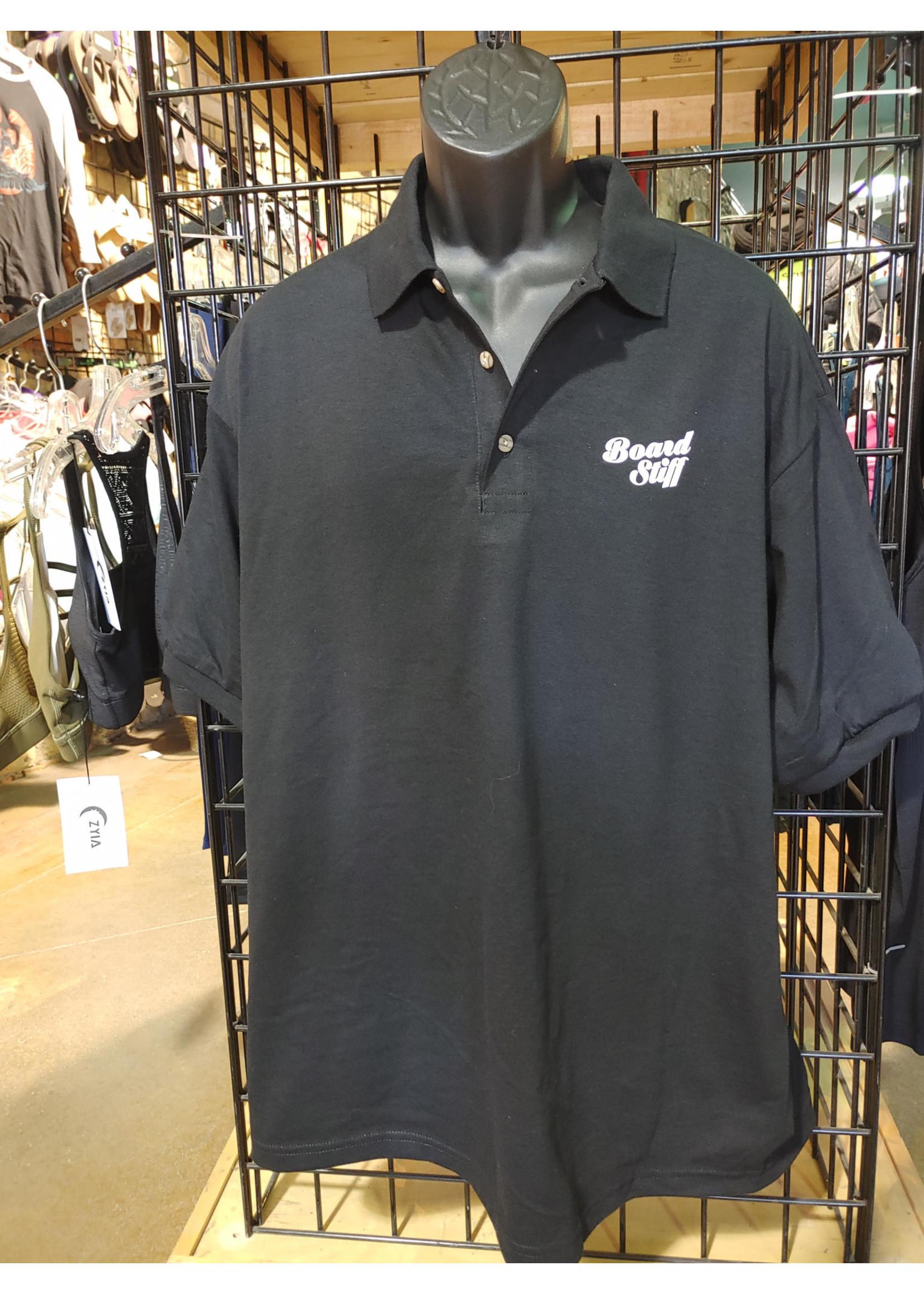 Boardstiff Men's Golf Shirt - Boardstiff Logo