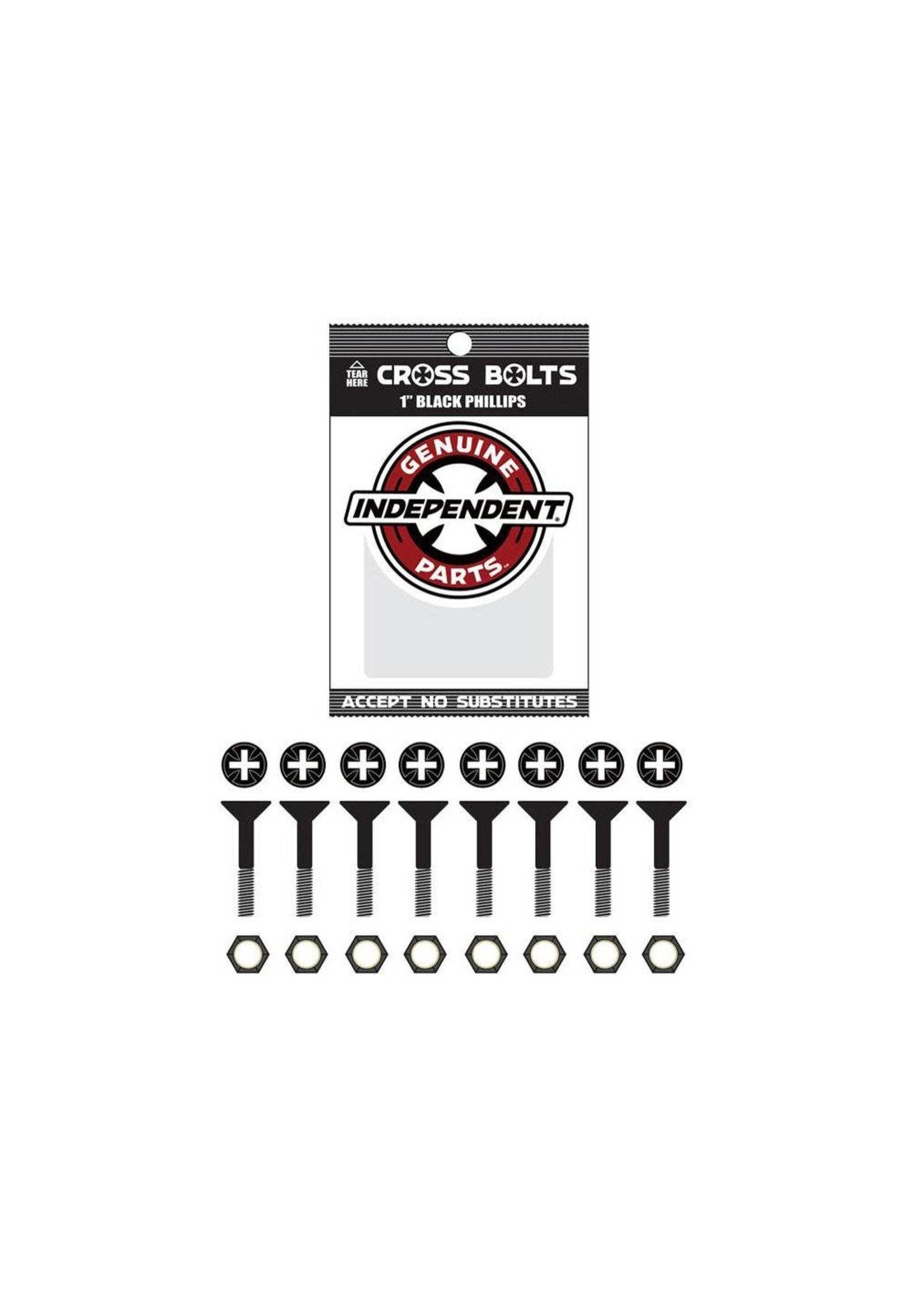 Independent Independent Cross Bolts 1 inch Phillips