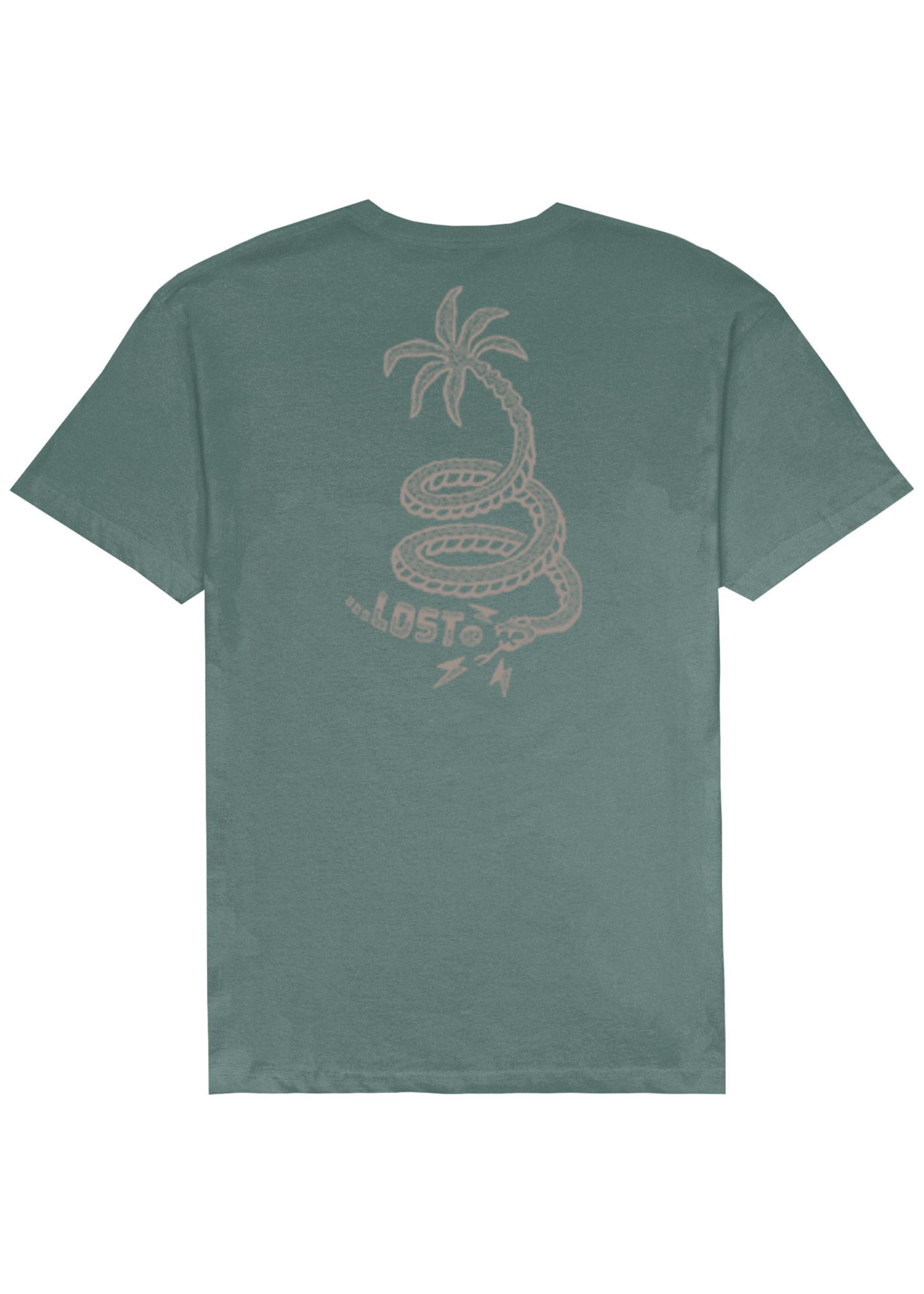 Lost Lost Snake Palm Vintage Dye Tee