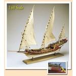 Amati AMA1427 Barbarian Pirate Ship Xebec 1753