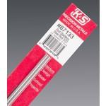 K&S Metals KSE87133 3/32'' Round Stainless Steel Rod
