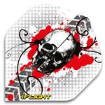 580086: Skull-Red/Grey Flights