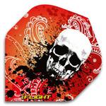 580087: Skull-Red/Orange Flights