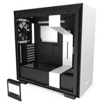 NZXT NZXT H710 Black/White Tempered Glass Computer Case