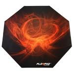 37510: Topaz Orange Gaming Chair Floor Matt