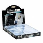 Ultra Pro 81320 9 Pocket Protector Sheets (100)