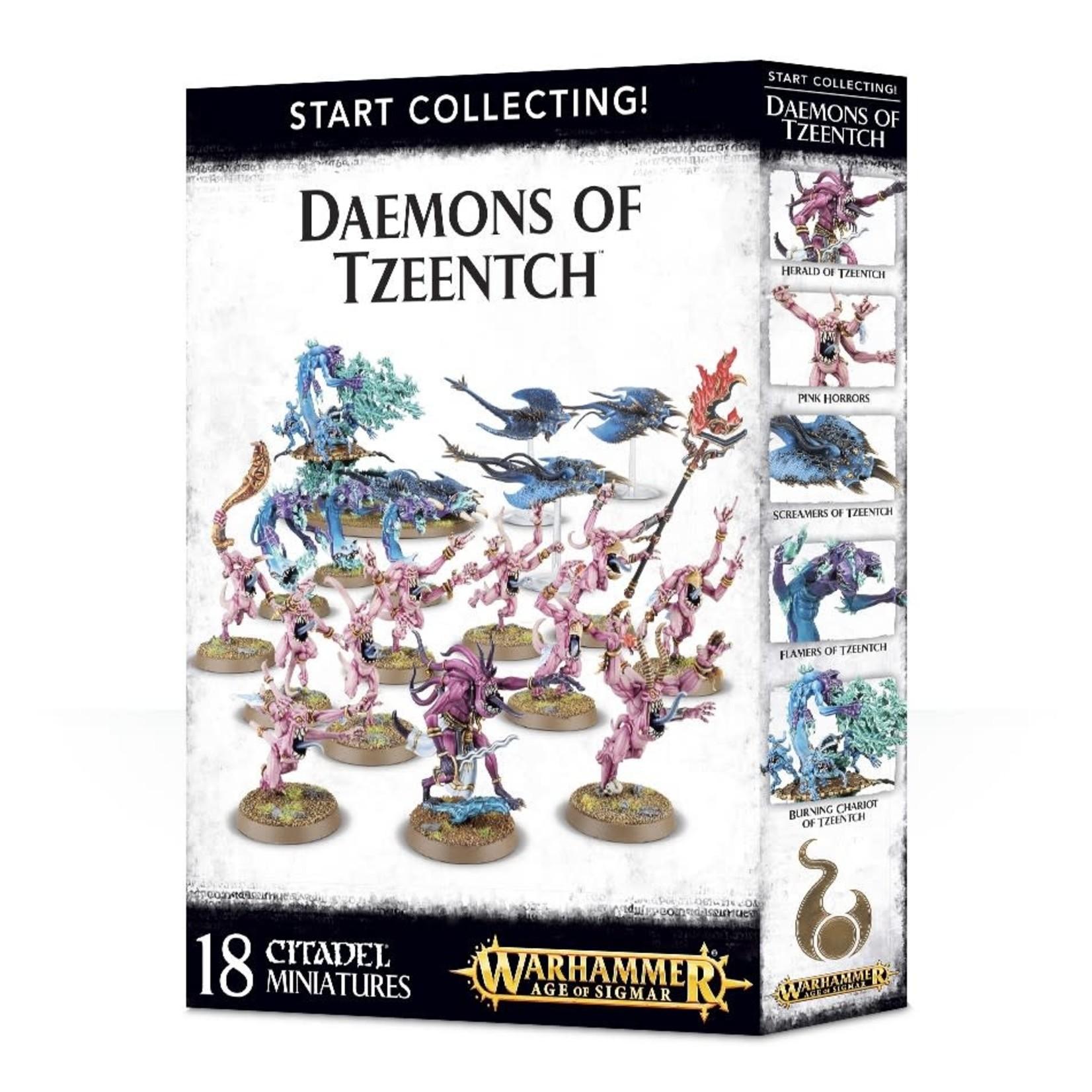 Chaos Daemons START COLLECTING! DAEMONS OF TZEENTCH