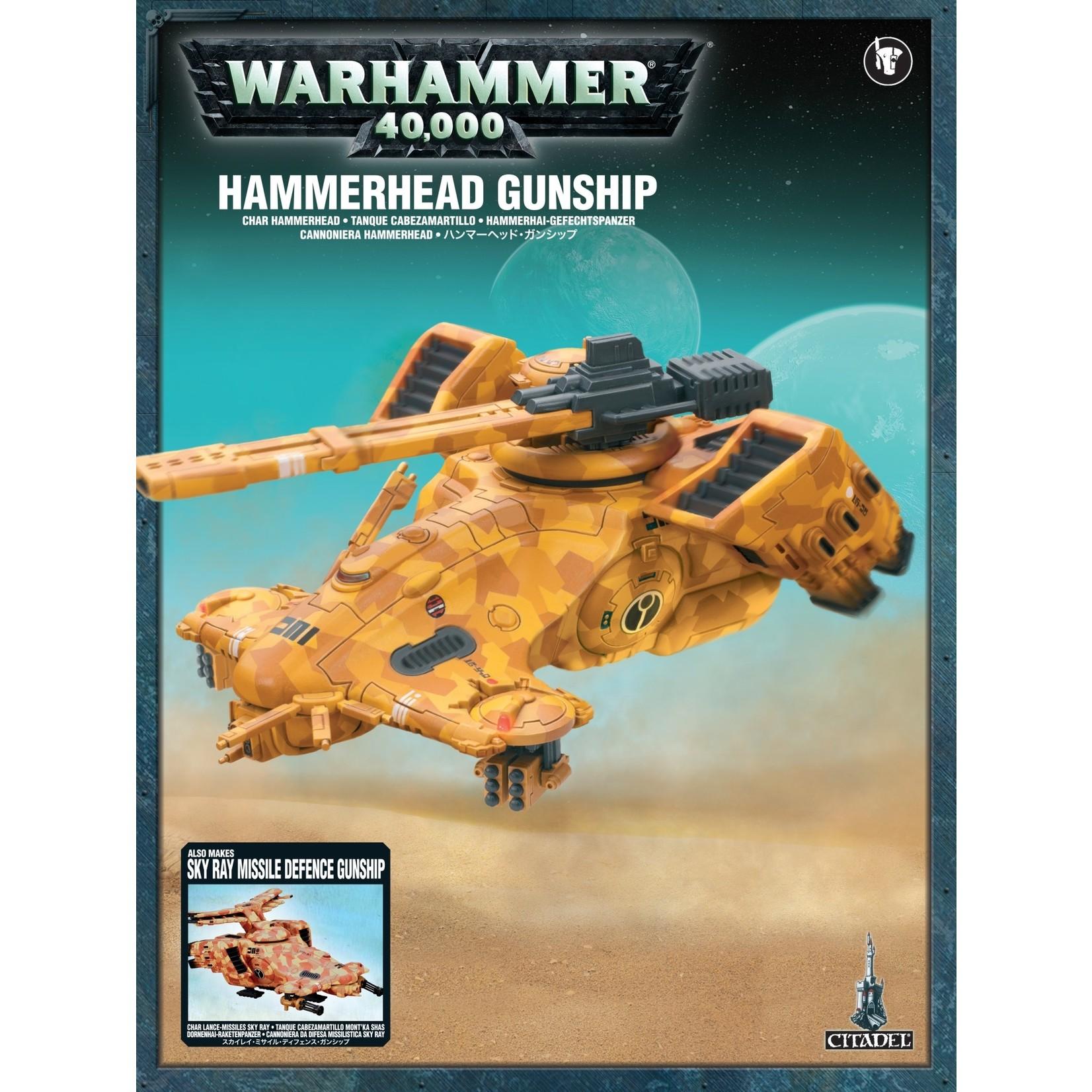 Tau Empire HAMMERHEAD GUNSHIP