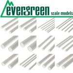 Evergreen Scale Models EVE2025 Styrene .020 V-Groove Siding Sheet