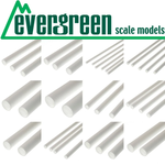Evergreen Scale Models EVE424 Styrene 1/8'' Tube (8pc)