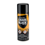 Spray Can CHAOS BLACK SPRAY