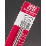 "K&S Metals KSE87115 1/4"" Round Stainless Steel Tube"