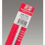 K&S Metals KSE8105 7/32'' OD Aluminum Tube (1pc)