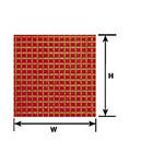 """Plastruct PLA91539 Styrene 1/8"""" Square Tile Sheet"""