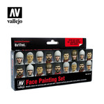 Vallejo VAL70119 Face Painting Set (8pc)