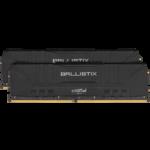 Crucial Crucial 16GB (2x8GB) DDR4 3600MHz Black RAM
