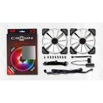 In-Win Crown 140mm ARGB Twin Pack Case Fan