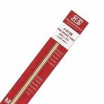 K&S Metals KSE5084 1/8 Square Brass Rod 2pk