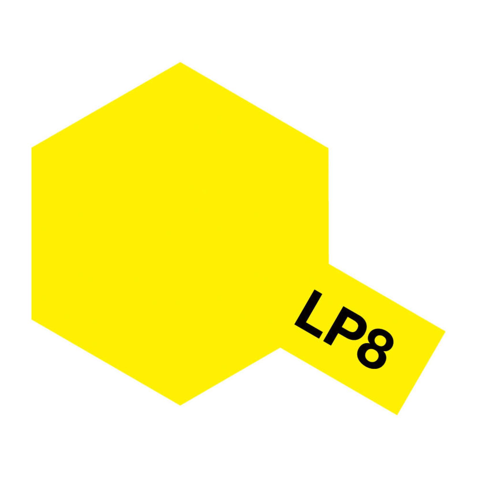 Tamiya TAMLP08 Lacquer Pure Yellow (10ml)