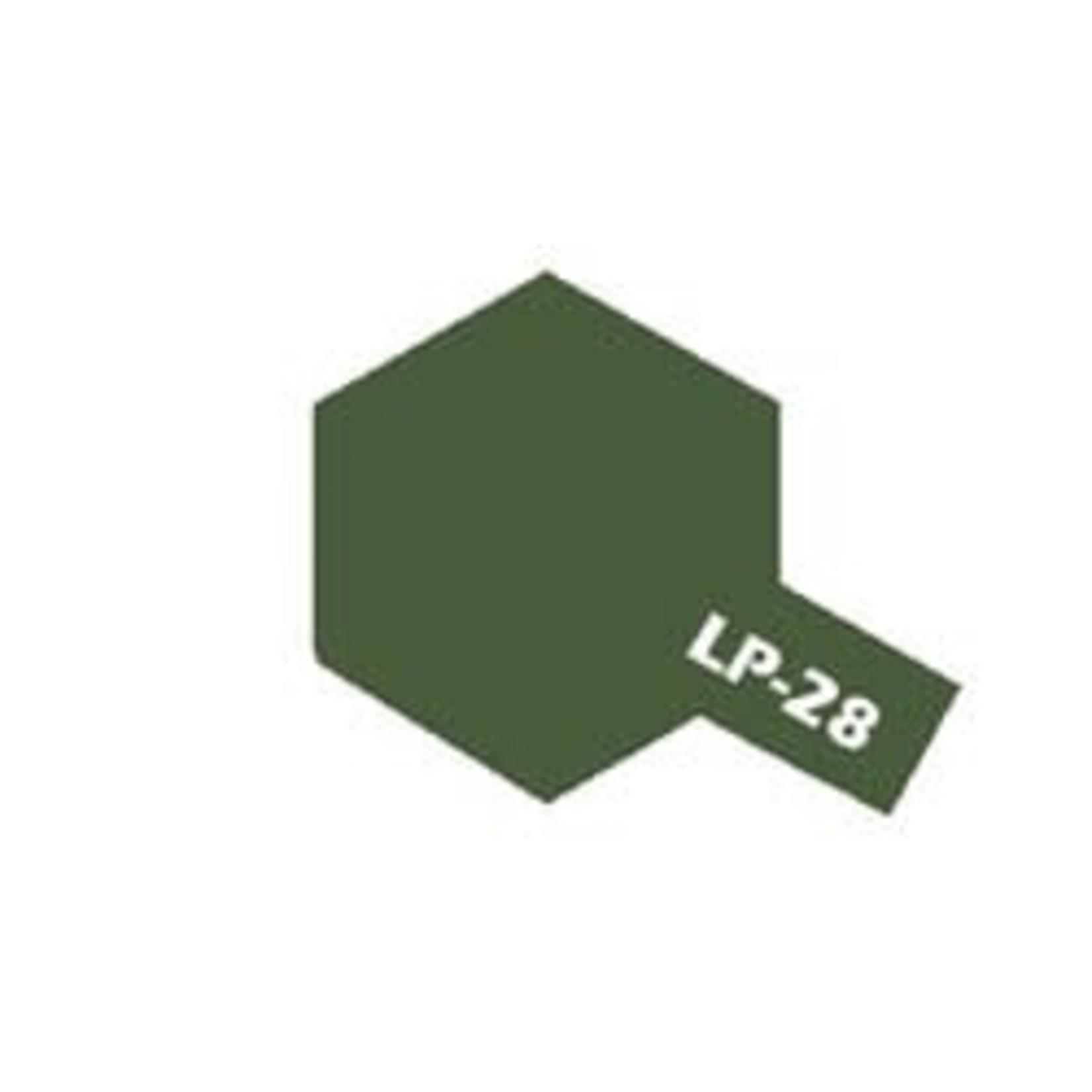 Tamiya TAMLP28 Lacquer Olive Drab (10ml)
