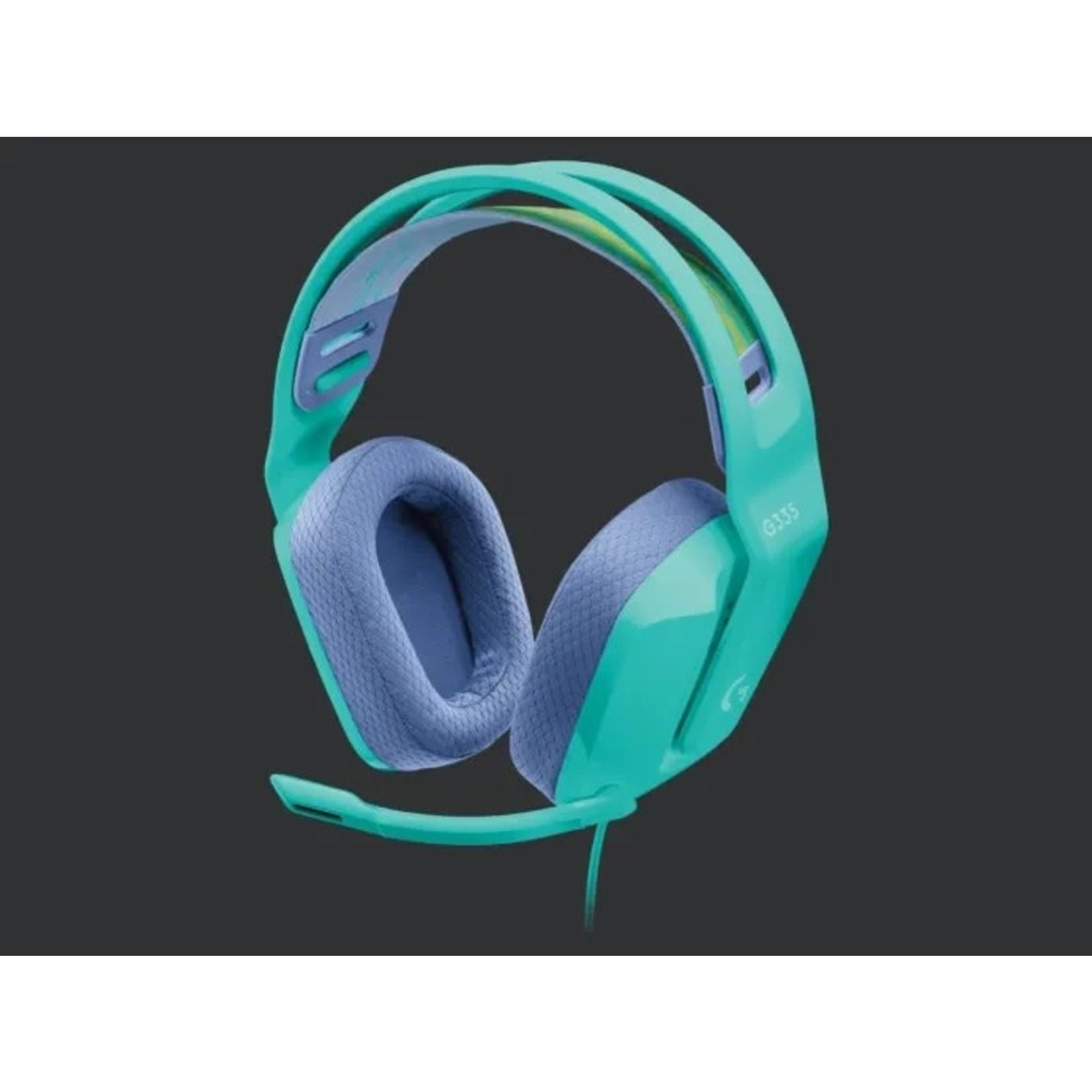 Logitech Logitech G335 Stereo Gaming Headset Mint