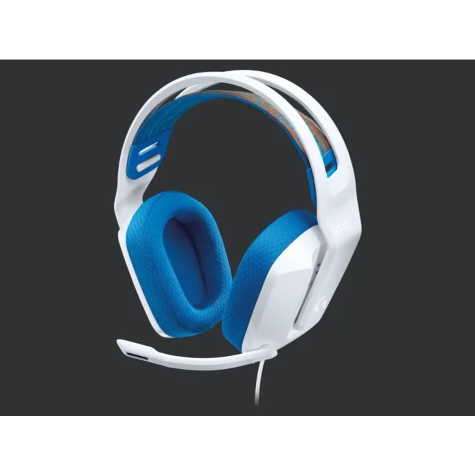 Logitech Logitech G335 Stereo Gaming Headset White