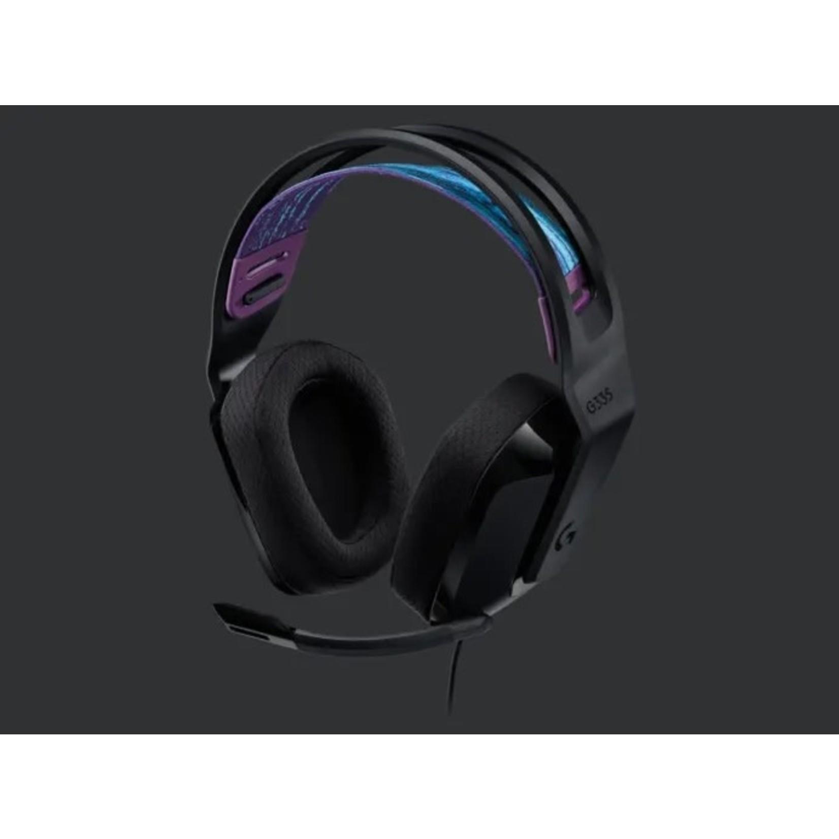 Logitech Logitech G335 Stereo Gaming Headset Black
