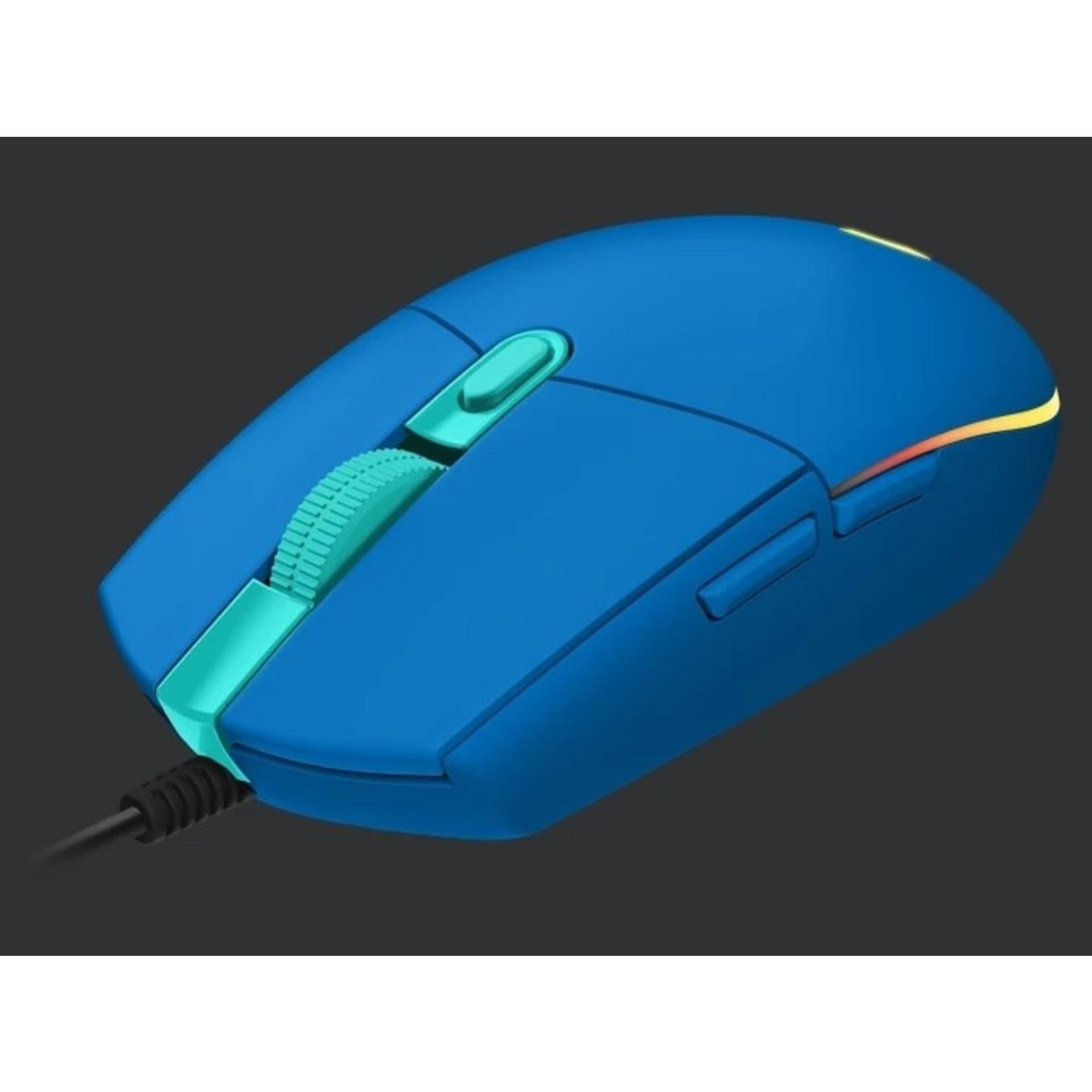 Logitech Logitech G203 Lightsync Gaming Mouse Blue