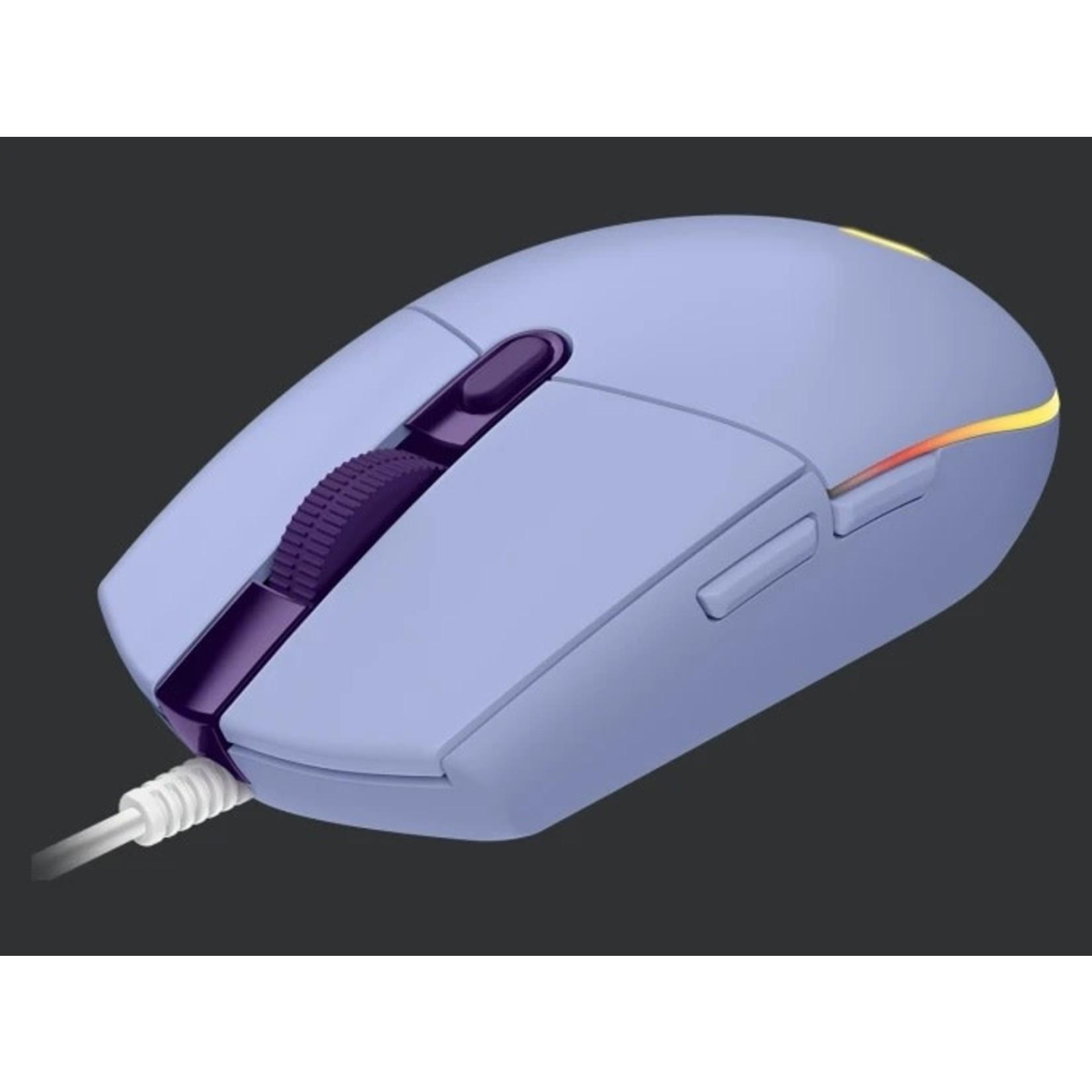 Logitech Logitech G203 Lightsync Gaming Mouse Lilac