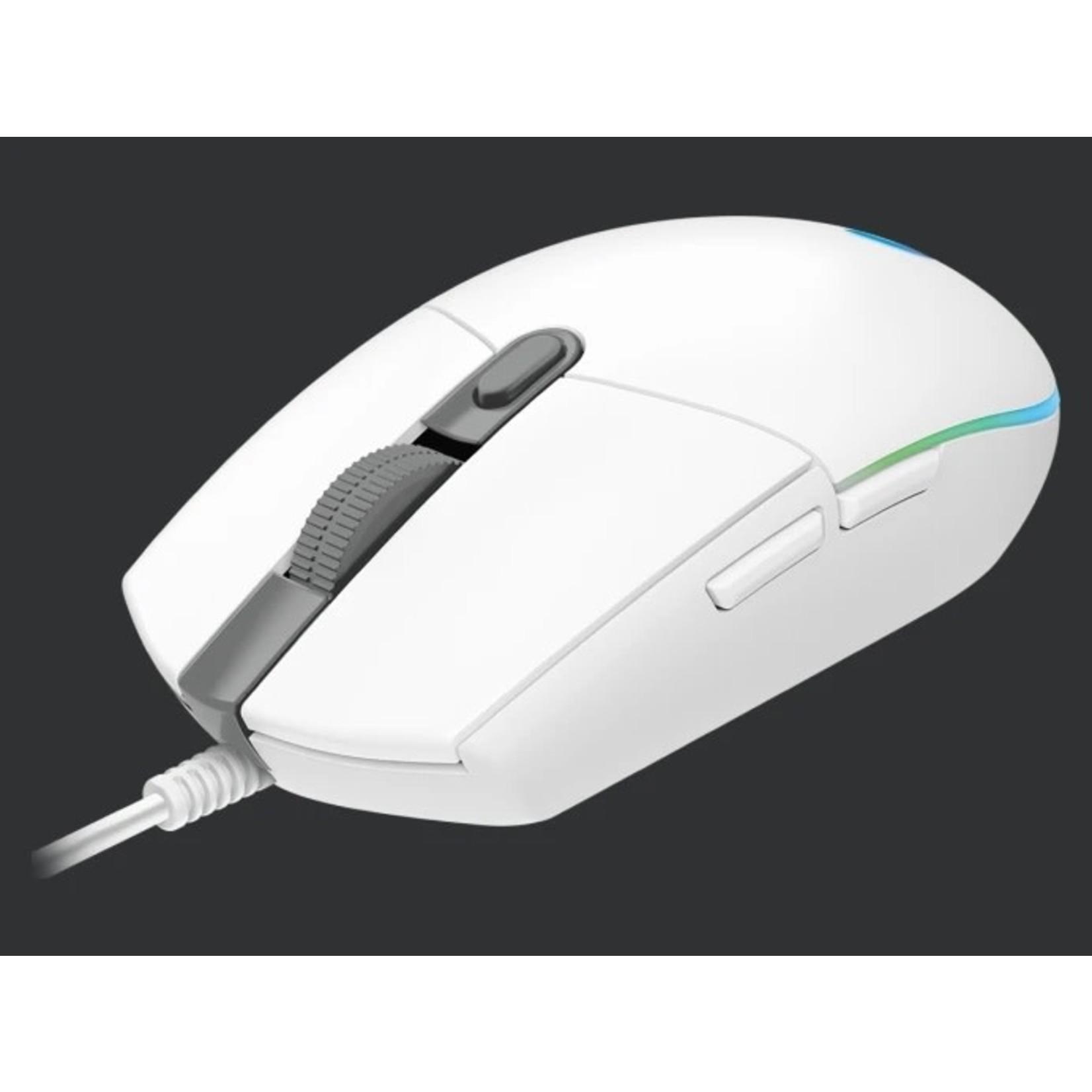 Logitech Logitech G203 Lightsync Gaming Mouse White