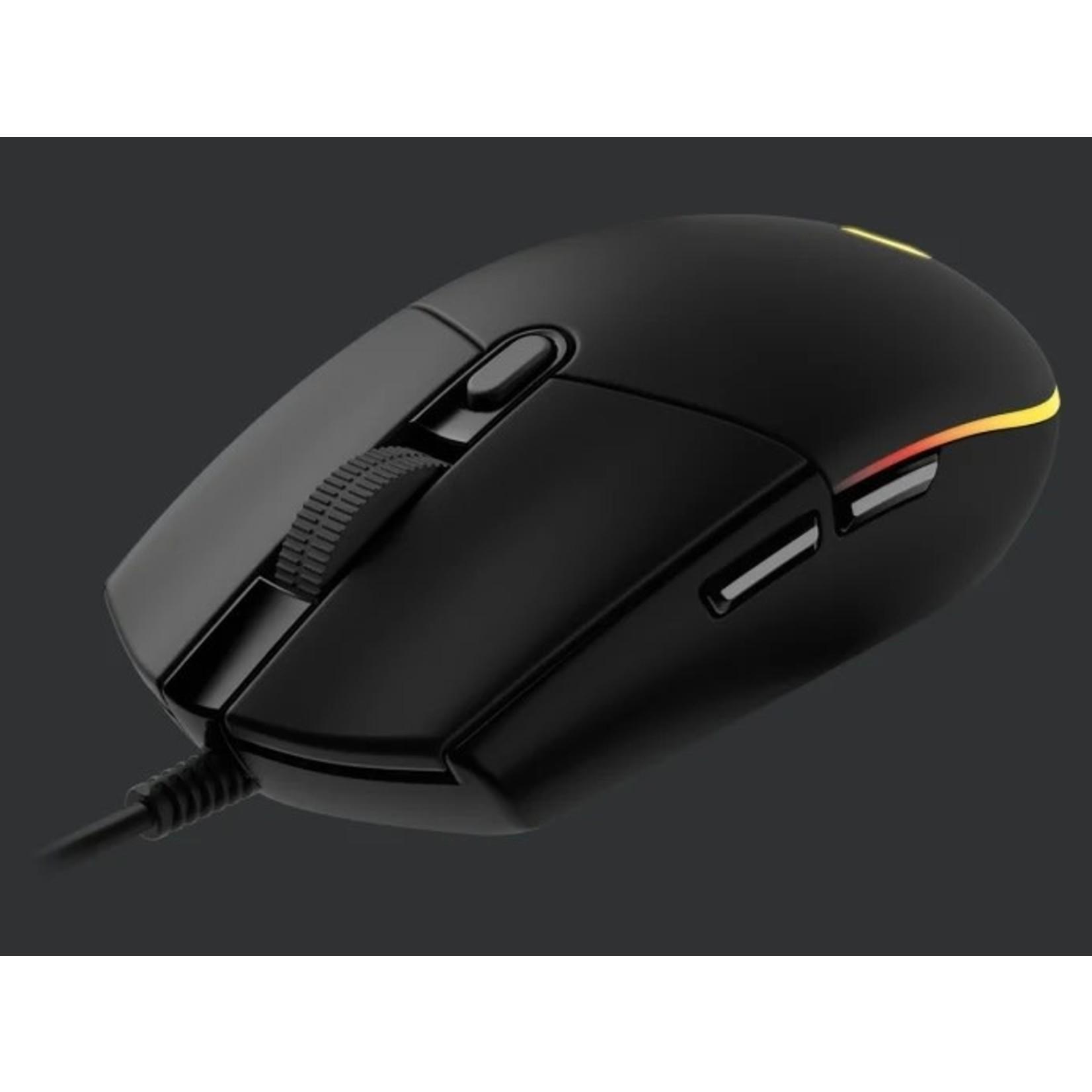 Logitech Logitech G203 Lightsync Gaming Mouse Black