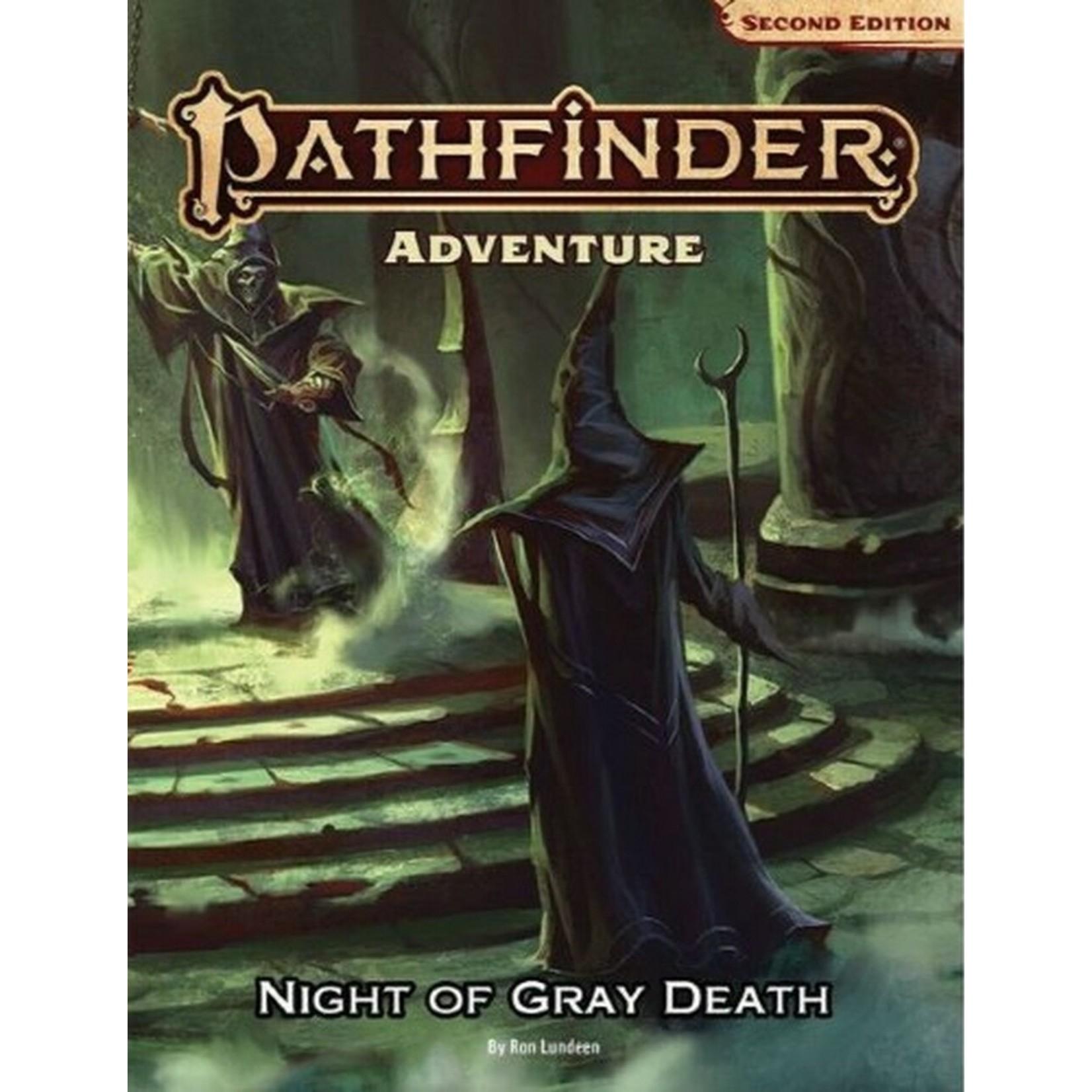 Paizo Pathfinder 2E Module Night Of The Gray Death