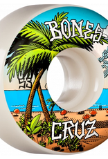 BONES BONES WHEELS PRO STF Skateboard Wheels Cruz Buena Vida 53mm V2 Locks 103A 4pk