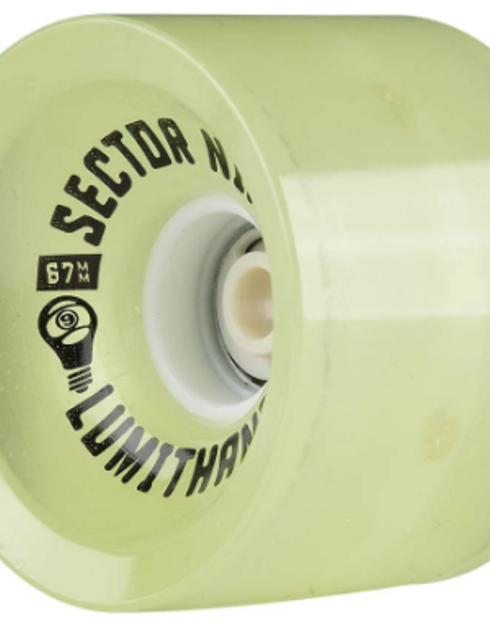SECTOR 9 67mm 78A LUMITHANE GLOW WHEELS SET OF 4