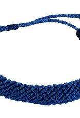 PURA VIDA FLATBRAIDED BLUE-TIFUL BRACELET