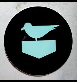 JETTY JETTY CIRCLE STICKER (BIRD)