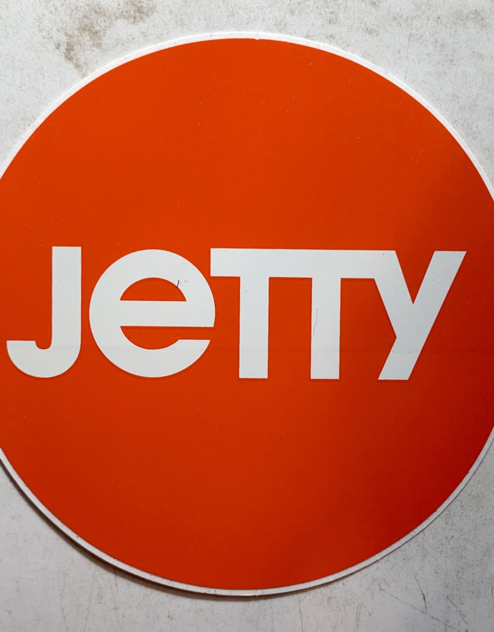 JETTY JETTY CIRCLE STICKER (ORANGE)