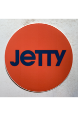 JETTY JETTY CIRCLE STICKER (RED)