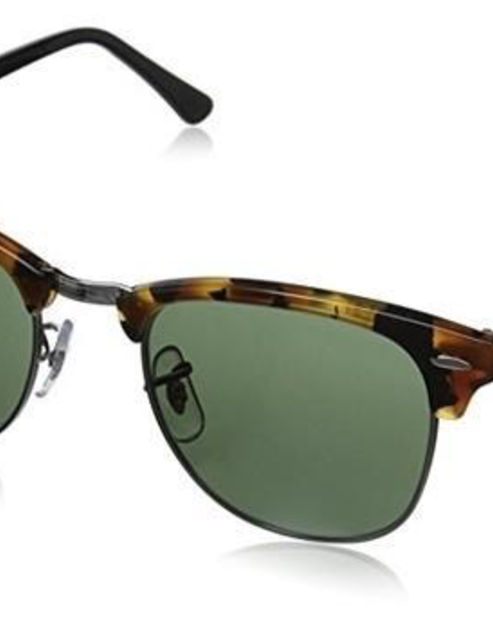 RAYBAN CLUBMASTER SPOTTED BLACK HAVANA WITH G-15
